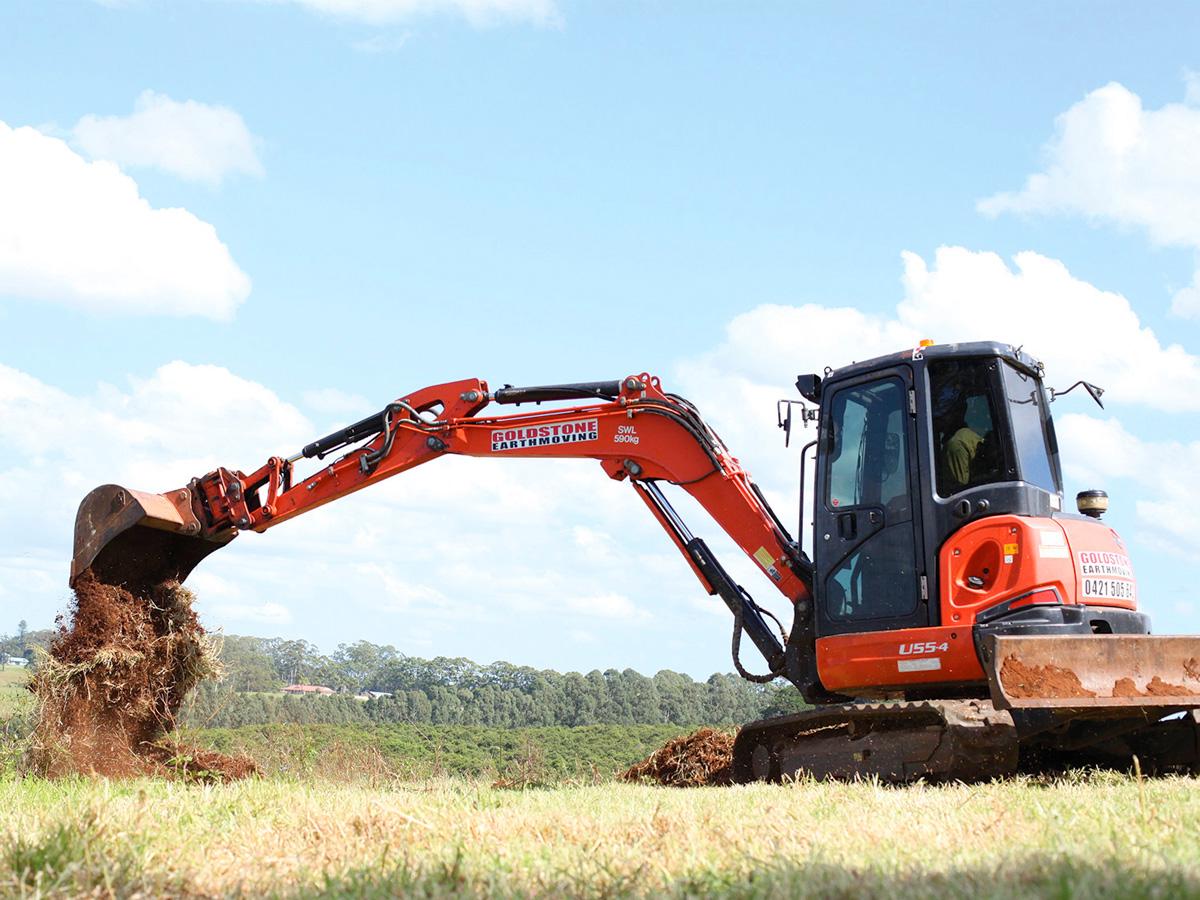 U55-4-Kabota-Excavator-Goldstone-Earthmoving-Northern-NSW-Australia